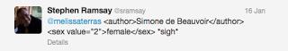 sramsay gender